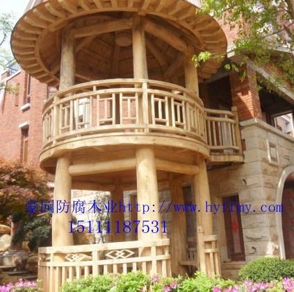 豪园木业2层凉亭